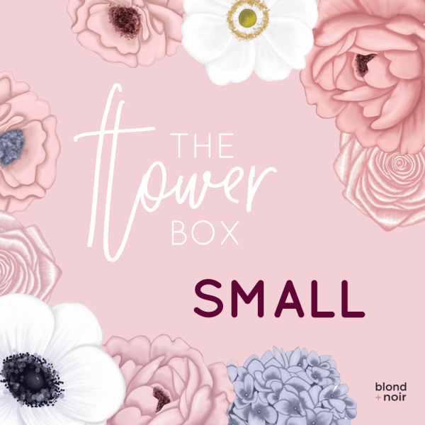 The Flower Box - SMALL | Create Your Own Custom Floral Wall Decals! - Petit Luxe Bebe