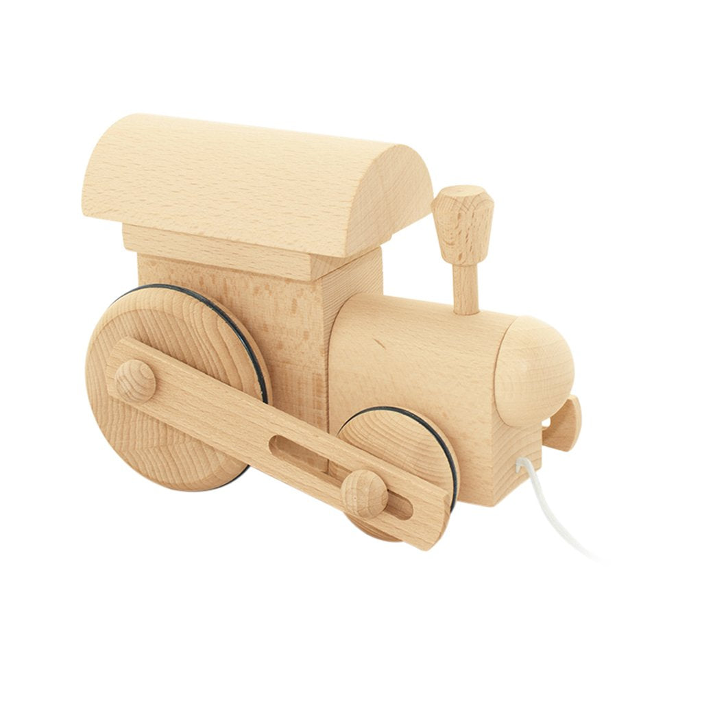 Frederik - Pull Along Wooden Train Toy - Petit Luxe Bebe