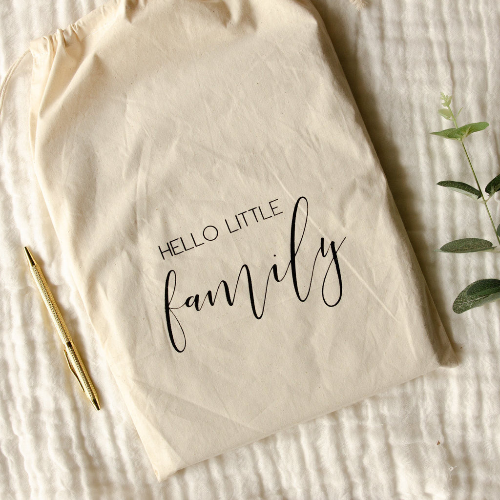 HELLO LITTLE FAMILY Heirloom Family Journal - Petit Luxe Bebe