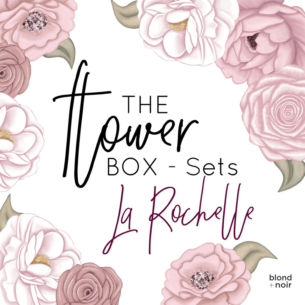 The Flower Box Sets - La Rochelle | Floral Wall Decal Set - Petit Luxe Bebe