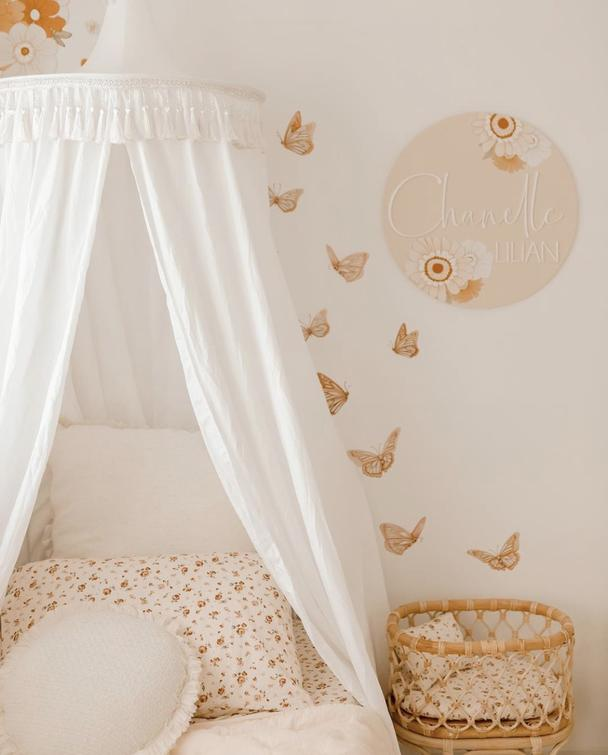 Butterflies Wall Decals - Morning Sun - Petit Luxe Bebe