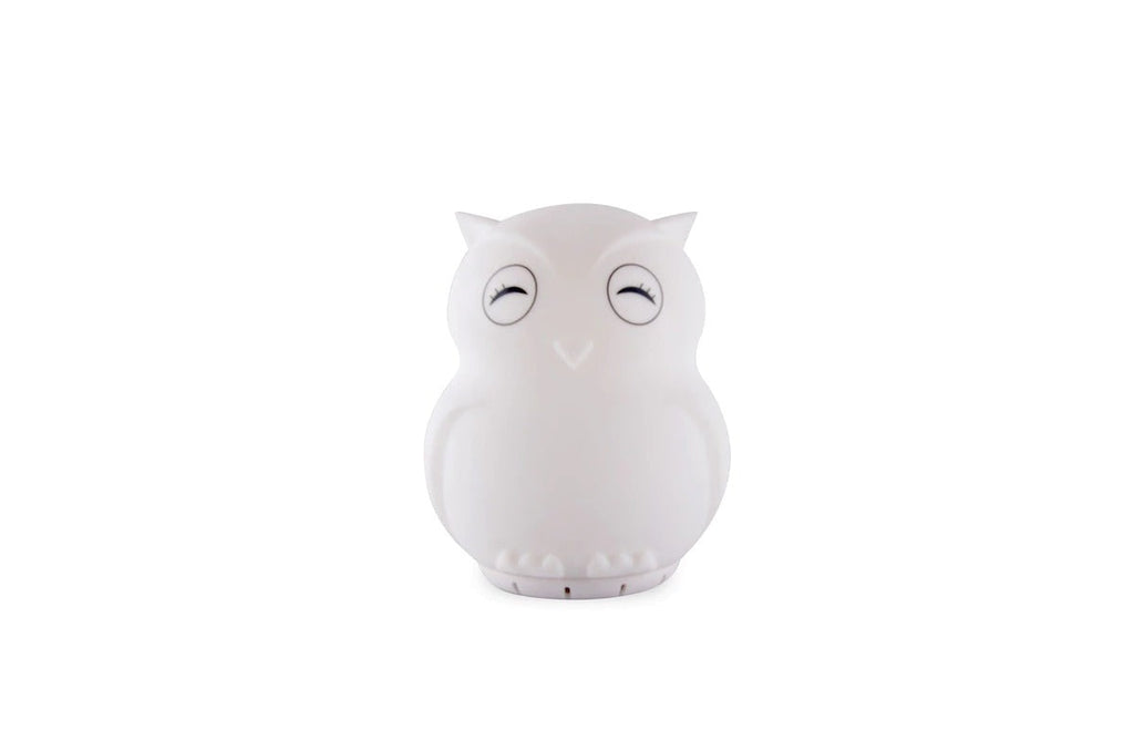 Duski Rechargeable Bluetooth Nightlight - Owl - Petit Luxe Bebe