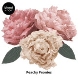 Peonies Wall Decals - Full Pack