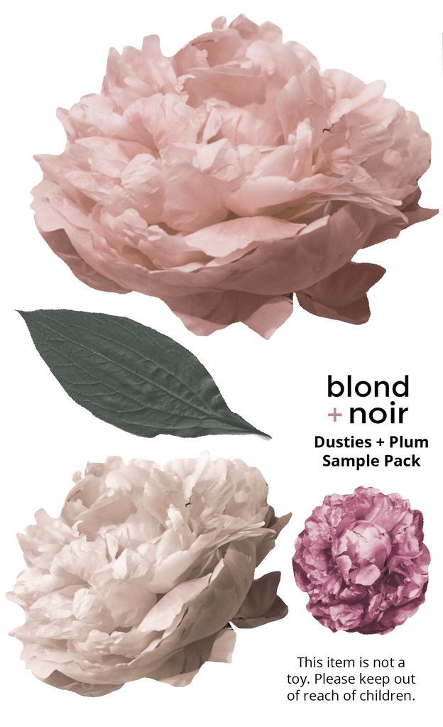 B+N Floral Decal Sample Packs - Petit Luxe Bebe