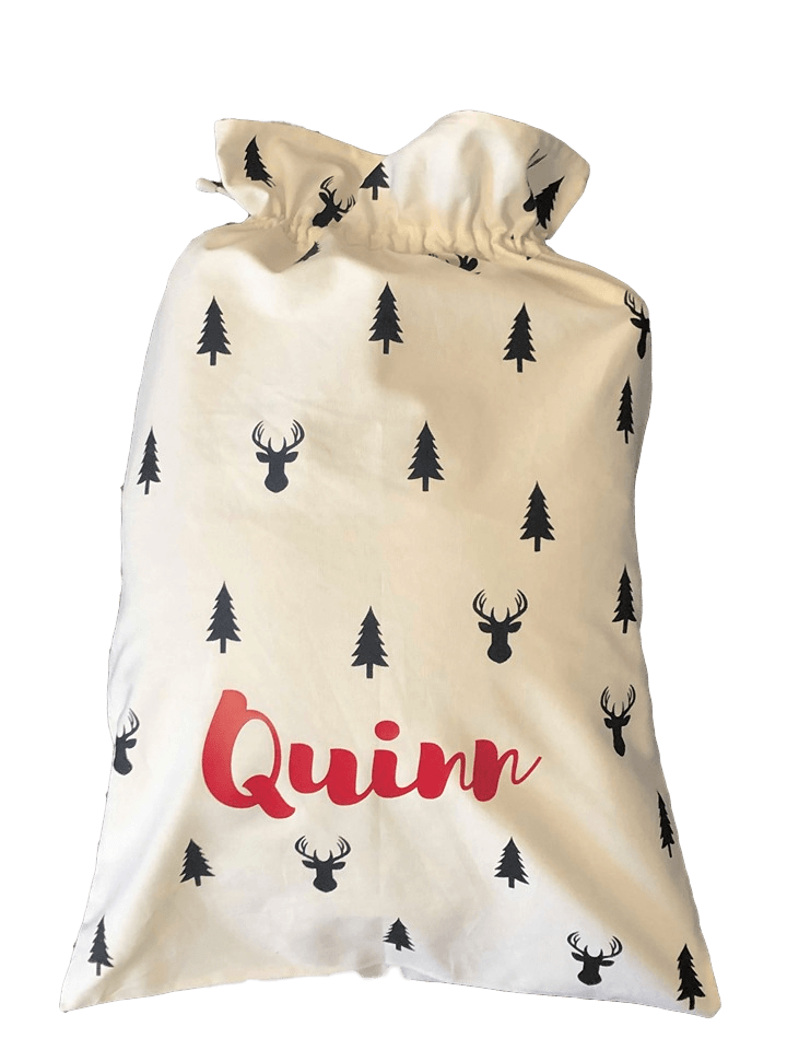 Personalised Christmas Santa Sacks - Petit Luxe Bebe
