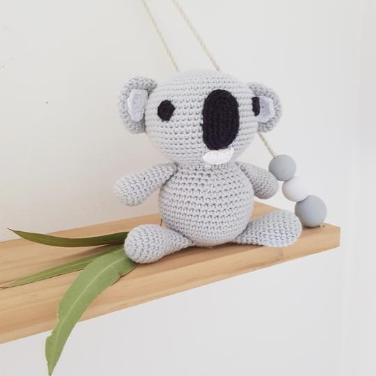 Single Wooden Storage Swing Shelf - Petit Luxe Bebe