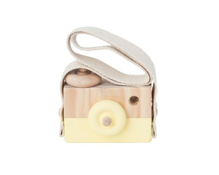 Wooden Toy Camera - Cheese Melt - Petit Luxe Bebe