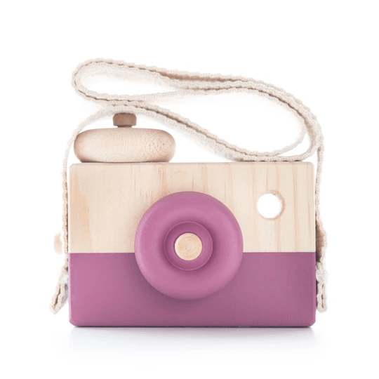 Wooden Toy Camera - Berrie Smoothie - Petit Luxe Bebe