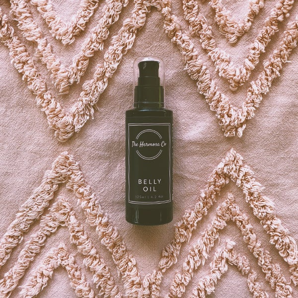 The Hermosa Co Belly Oil 125ml - Petit Luxe Bebe