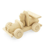 Brocky - Wooden Race Car With Driver