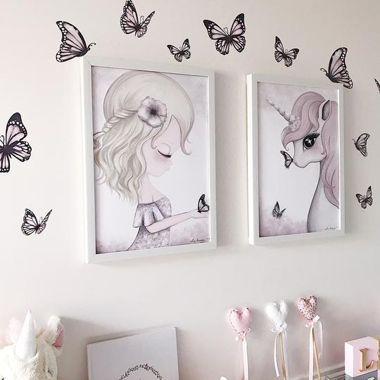 Butterflies Wall Decals -The Originals - Petit Luxe Bebe