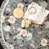 Enchanted Garden Tassel Baby Playmat