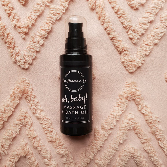 The Hermosa Co - Oh Baby Massage & Bath Oil