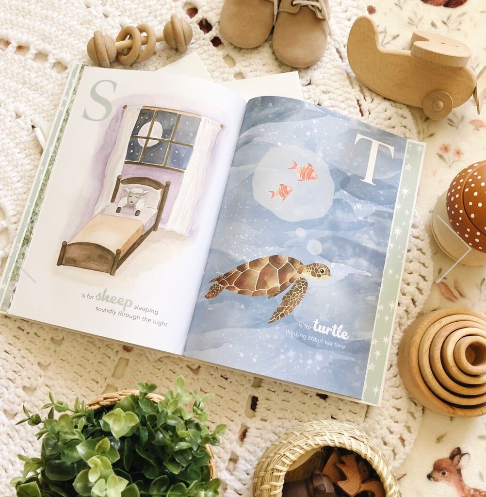 The Amazing ABC Book - Petit Luxe Bebe