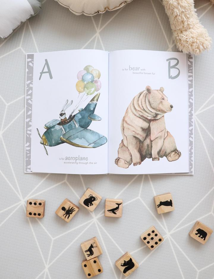 The Incredible ABC Book - Petit Luxe Bebe
