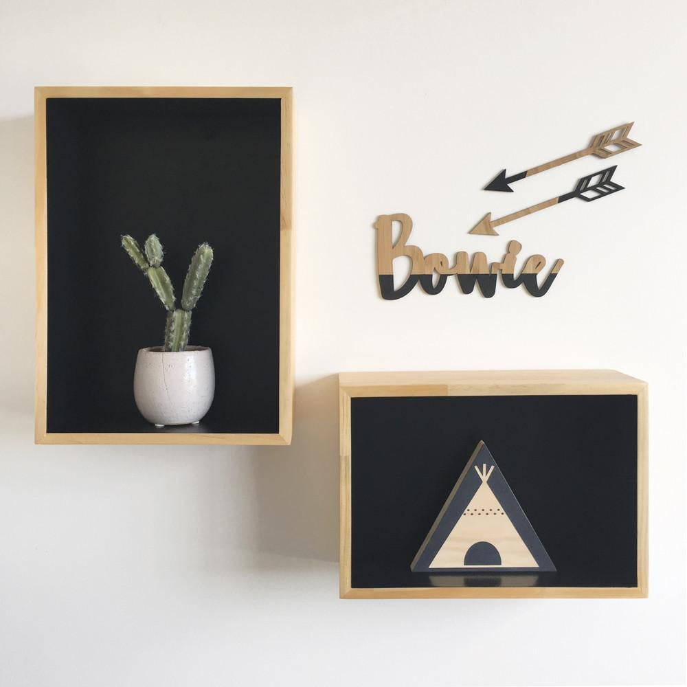 Wooden Arrows Nursery Wall Art | Flatlay Accessory - Petit Luxe Bebe