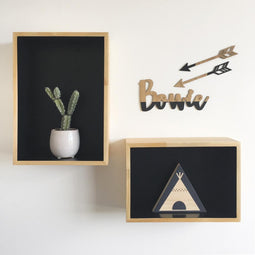 Wooden Arrows Nursery Wall Art | Flatlay Accessory
