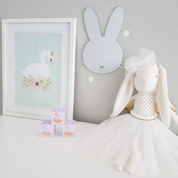 Bunny Mirror Wall Art