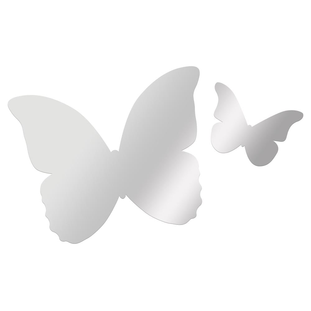 Butterfly Mirror Wall Art Set - Petit Luxe Bebe