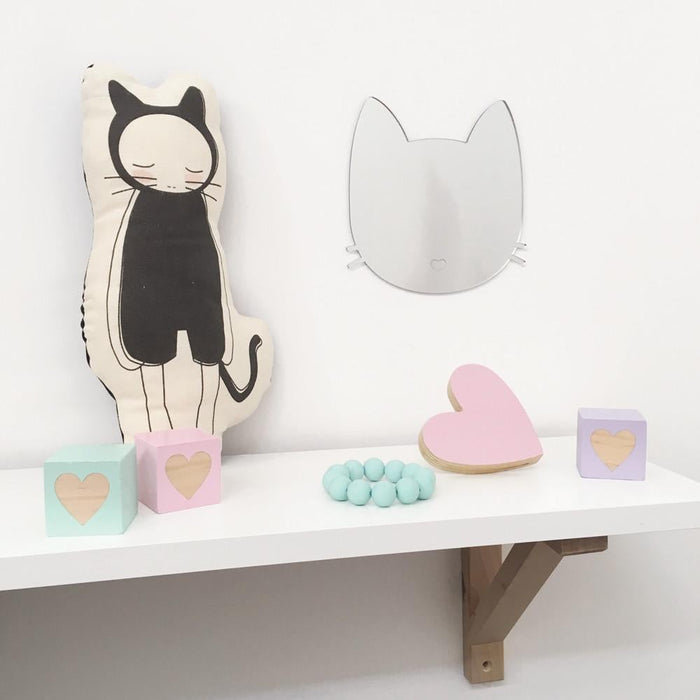 Kitty Cat Mirror Wall Art
