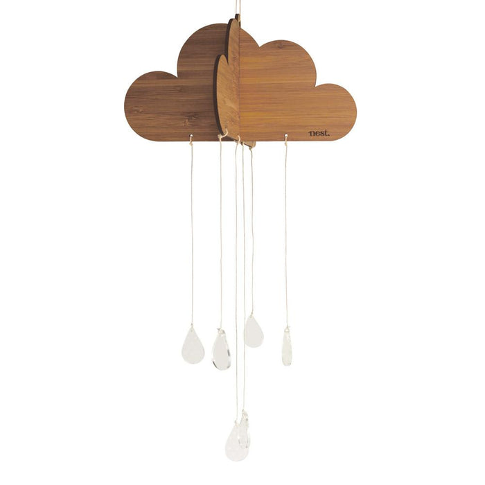 Happy Cloud Bamboo Nursery Mobile - Petit Luxe Bebe