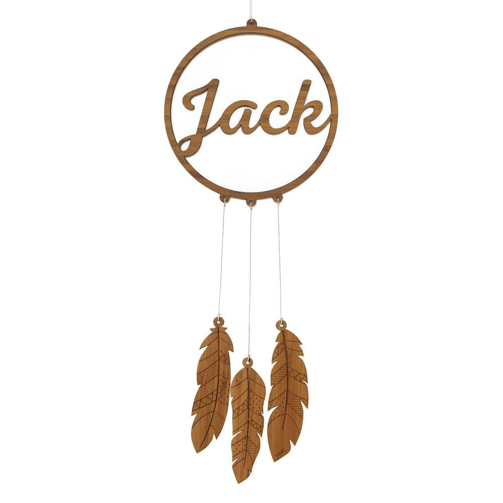 Custom Personalised Dream Catcher Mobile - Petit Luxe Bebe