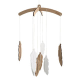 Feather Nursery Mobile - Petit Luxe Bebe