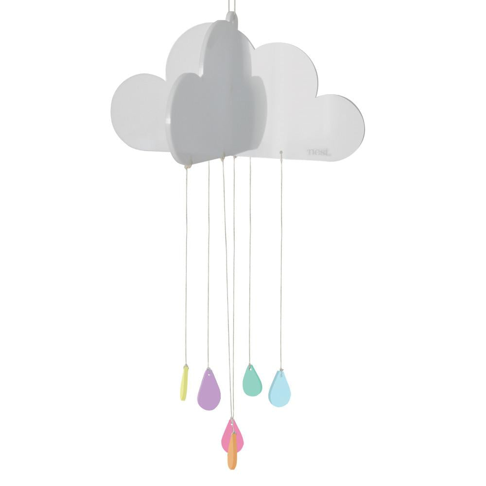Happy Cloud Nursery Mobile - Petit Luxe Bebe