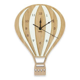 Nursery Wall Clock - Hot Air Balloon (4 Colours!)