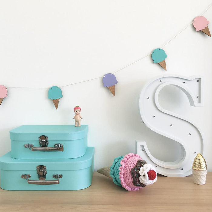 Ice Cream Garland Bedroom Accessory