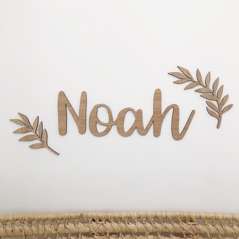 Name Plaque Add Ons | Nursery Wall Art - Petit Luxe Bebe