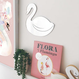Swan Mirror Wall Art