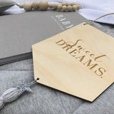 Custom 'Sweet Dreams' Wooden Banner | Hanging Wall Art