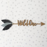 Customised 'WILD ONE' Bamboo Arrow