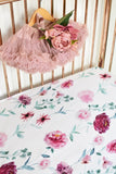 Wanderlust Jersey Cotton Fitted Cot Sheet