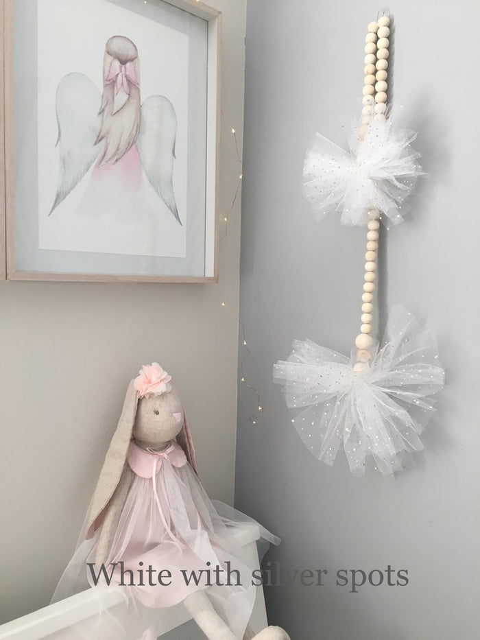 Double Pom Pom Tulle Garland