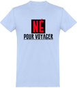 Tee Shirt Homme Né pour voyager