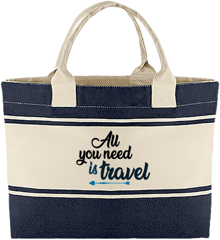Sac Cabas All you need is travel