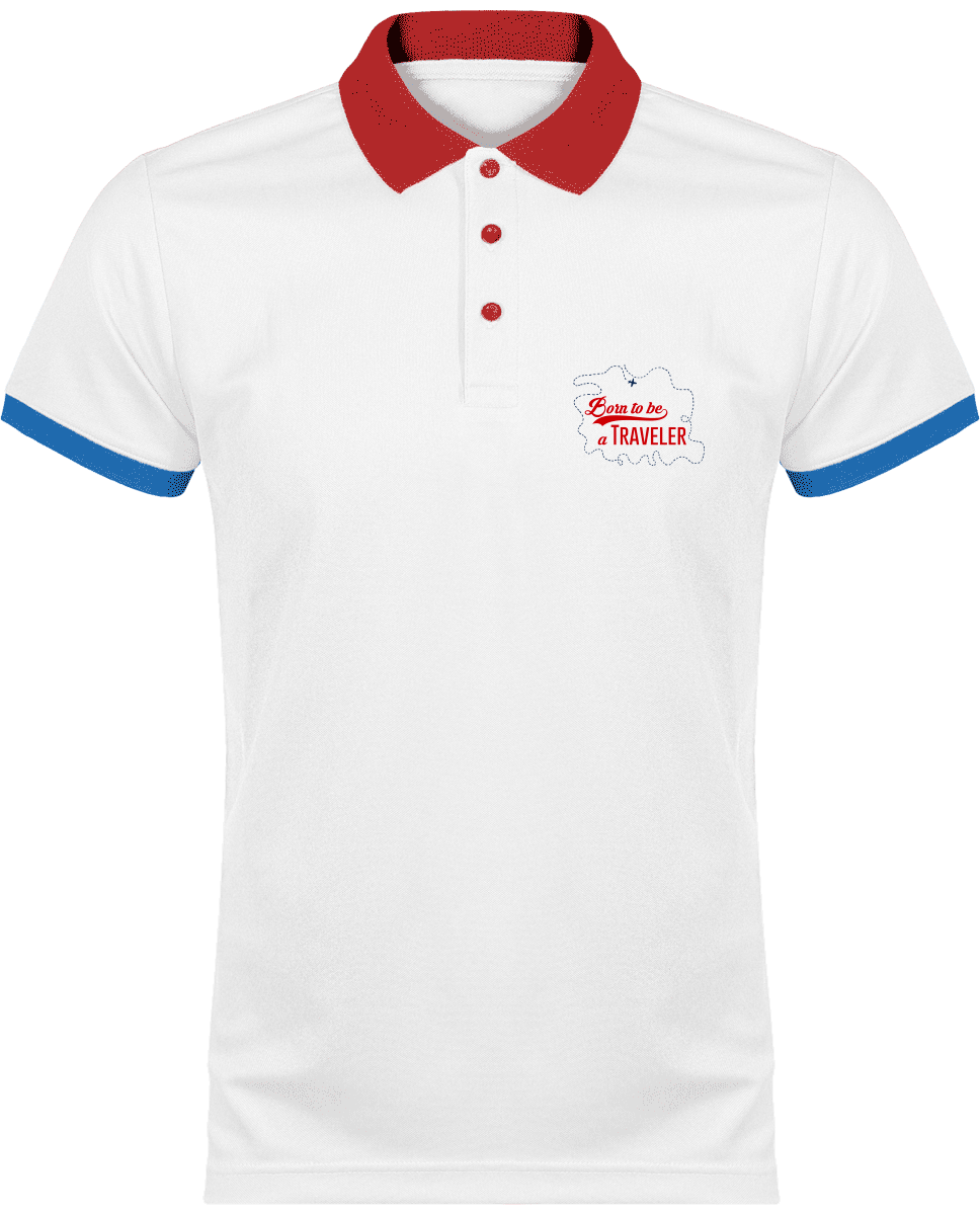Polo Sport Homme Born to be a traveler