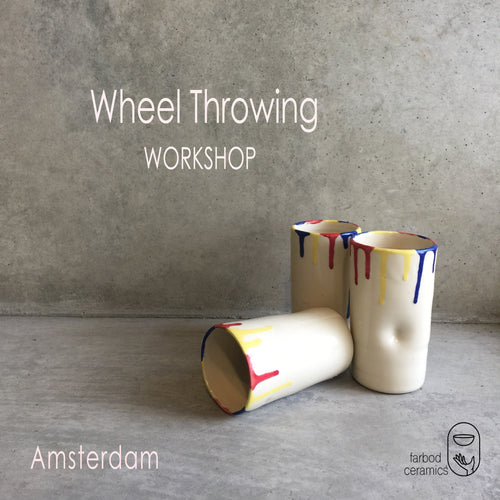 1 Day- Wheel Throwing workshop