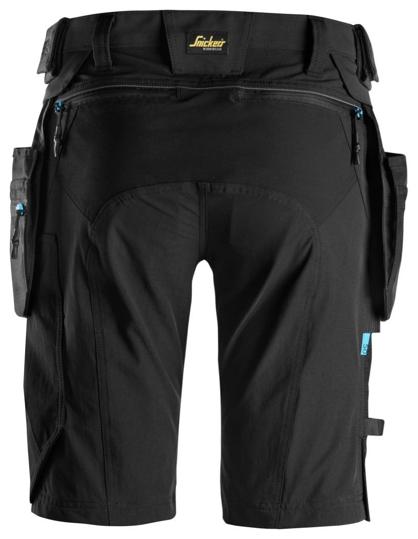 Snickers LiteWork Shorts with Detachable Holster Pockets 6108