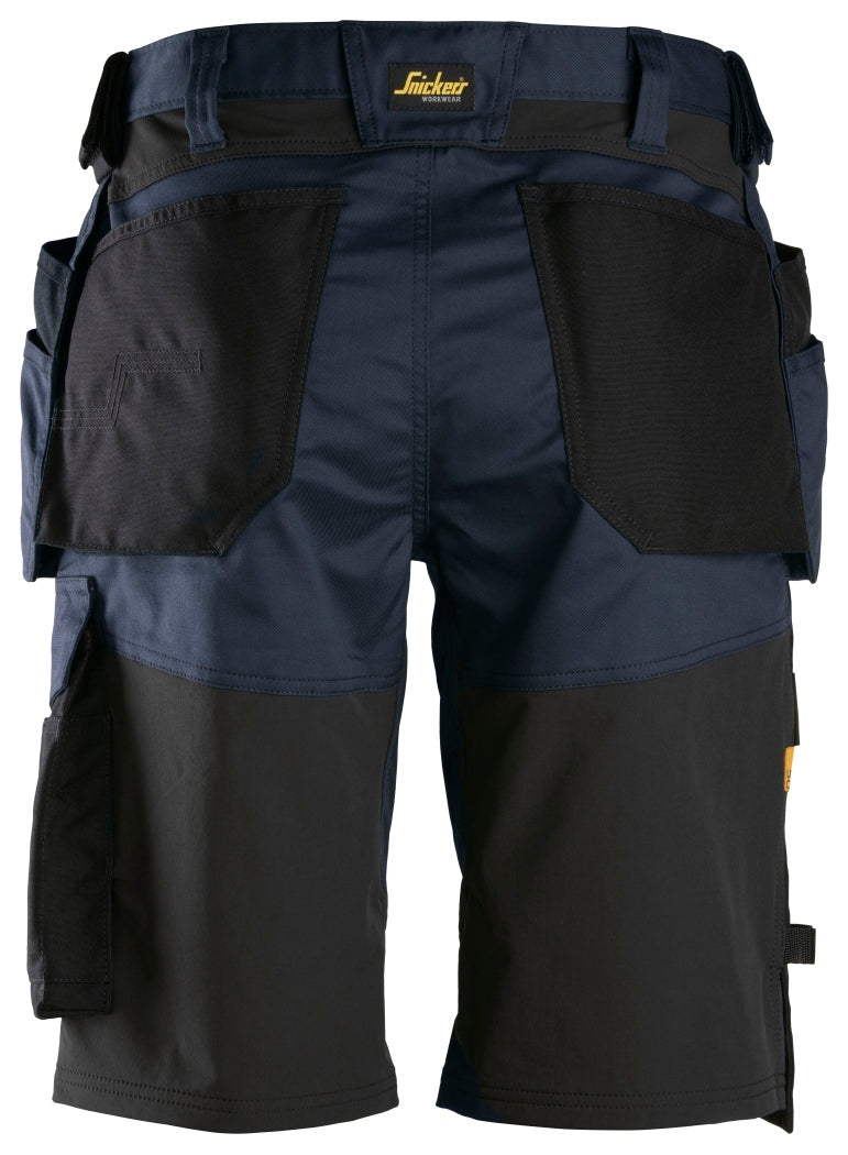 Snickers AllroundWork Stretch Loose Fit Shorts with Holster Pockets 6151