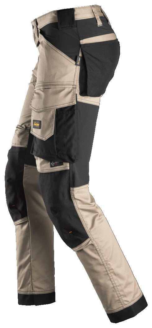 Snickers Workwear 6341 AllroundWork Stretch Trousers / work pants from Euro Workwear Direct in Australia