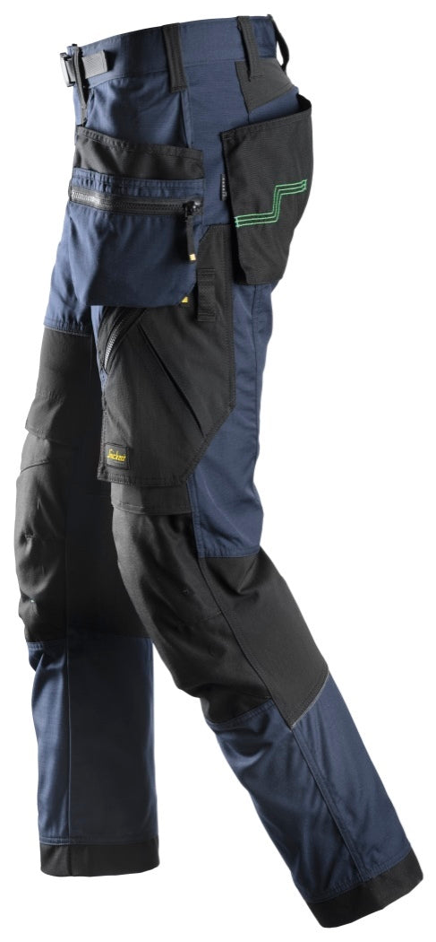 Snickers FlexiWork Pants with Holster Pockets 6902