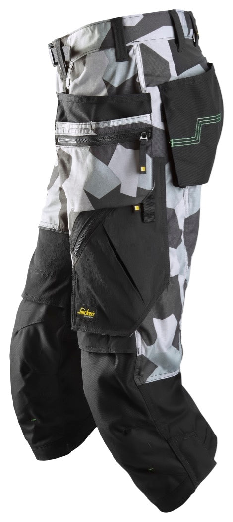Snickers FlexiWork Pirate Trousers with Holster Pockets 6905