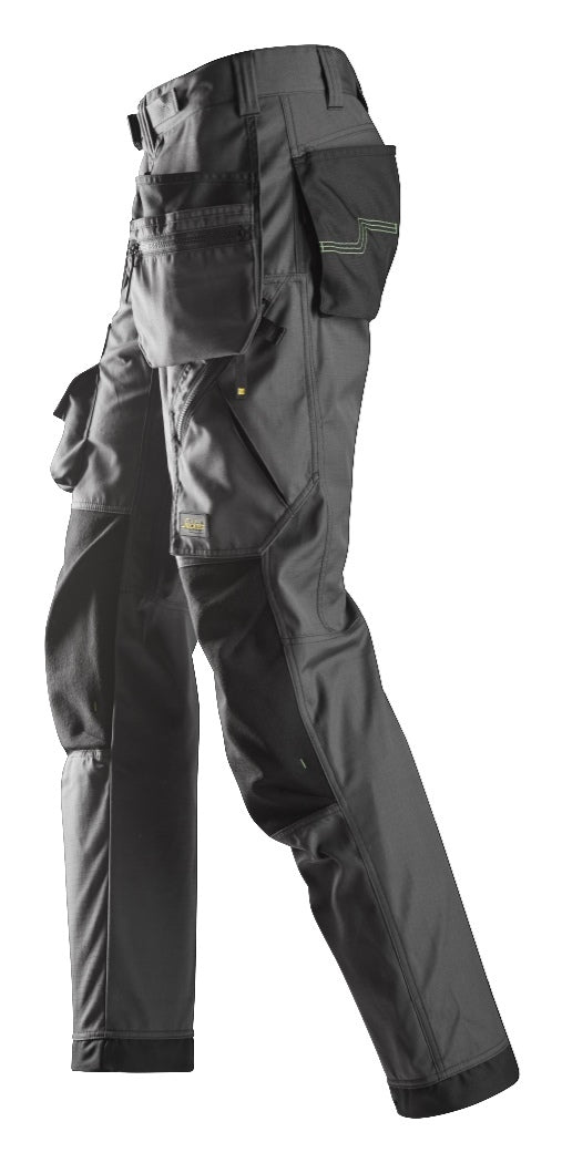 Snickers FlexiWork Floorlayer Pants with Holster Pockets 6923