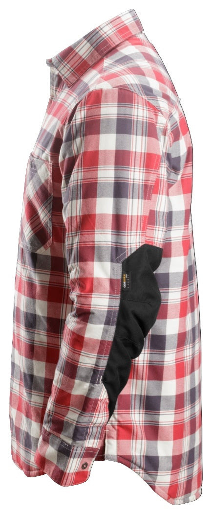 Snickers RuffWork Padded Flannel Checked LS Shirt 8501