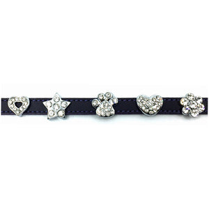 Diamante shapes for Personalised collar from Style Hound