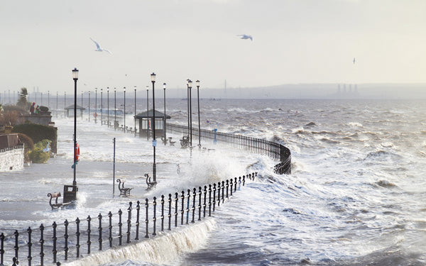 West Kirby Storm Surge (2014)