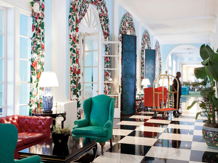 What I Wore to The Greenbrier, West Virginia's Hotel Jewel